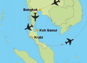 Travel Options from Bangkok to Koh Samui