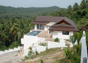 Hill Top sea view Villa