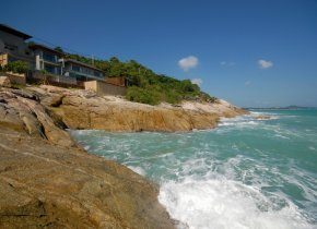 Ocean Front Luxury 4-Bed, Chaweng Noi