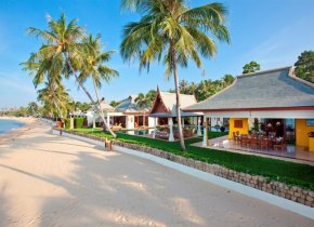 6-Bed Luxury Beach Villa in Exclusive Estate, Maenam