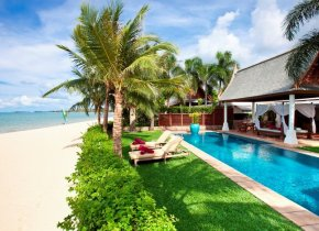 Luxury 4-Bed Beach Villa in Luxury Maenam Estate