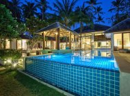 Luxury 6-Bed Beachfront Sleeps 12ad/6ch, Lipa Noi