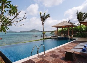 Bophut 4-Bed Luxury Beachfront Villa