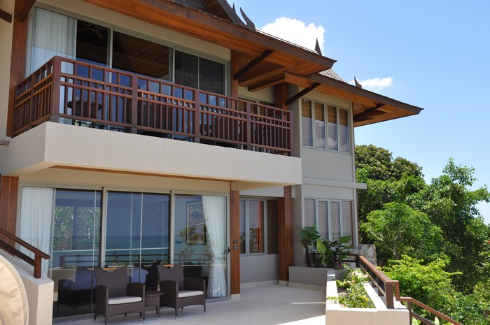 Exclusive 7 bedroom seaview cheong mon koh samui real for Terrace 6 indore address