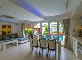 3-Bed Pool Villa 200M to Beach For Sale