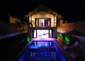 3-Bedroom Pool Villa 200m to Beach