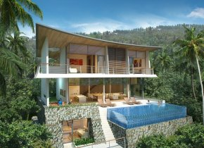 3 & 4 Bed Seaview Villas For Sale, Plai Laem