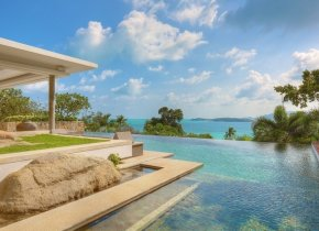 Luxury 5-Bedroom Seaview Pool Villa, Cheong Mon