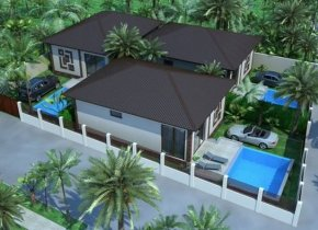 2-Bedroom Pool Villas 400m to Beach For Sale, Hua Thanon
