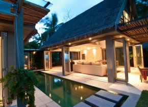 Seaview Luxury 2-Bed Villa Beach Access, Taling Ngam