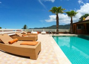 Chaweng 6-Bed Seaview Pool Villa Sleeps 10ad/3ch