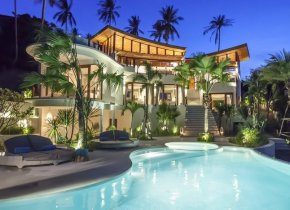 Sublime 4-Bed Bophut Seaview Luxury Villa