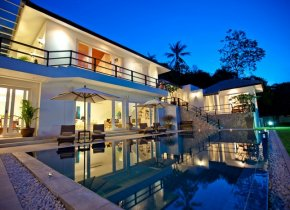 Bophut Hills Seaview 4-Bed Luxury Villa