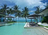 Luxury 5-Bed Beach Villa Sleeps 10ad/4ch, Taling Ngam