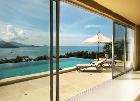 Stunning 5-Bed Seaview Pool Villa Rental, Bangrak