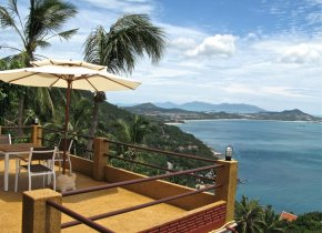 2-Bed Chaweng Sea View Hilltop Pool Villa, Long Term