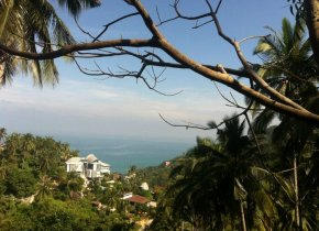 Chaweng Noi Sea View Land For Sale 864sqm