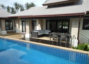 Modern 3-Bedroom Bophut Pool Villa For Sale