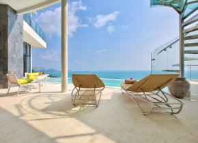 Ultra-Modern 5-Bed Seaview Chaweng Villa For Sale