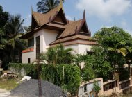 3-Bedroom Bophut Villa For Sale, Partial Sea View