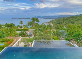 Seaview 4-Bed Award Winning Villa For Sale, Choeng Mon