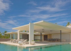 5-Bed Choeng Mon Seaview Luxury Modern Villa For Sale