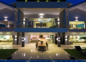 Amazing 5 bedroom panoramic sea view villa for rent in Ban Thai