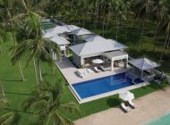 Luxury 5-Bed Beach Villa, Laem Set