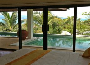 4 room holiday residence with beautiful sea and sunset views for rent in Samui