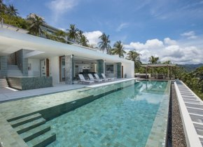 Contemporary 5-Bed Seaview Luxury Villa, Nathon