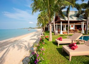 Luxury 5-Bed Beachfront Exclusive Maenam Estate