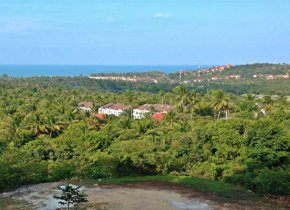 Spectacular plot of land with panoramic sea view for sale