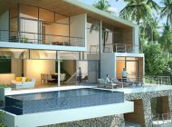 NEW STUNNING 3-4-BEDROOM SEA VIEW VILLAS IN LAMAI FOR SALE
