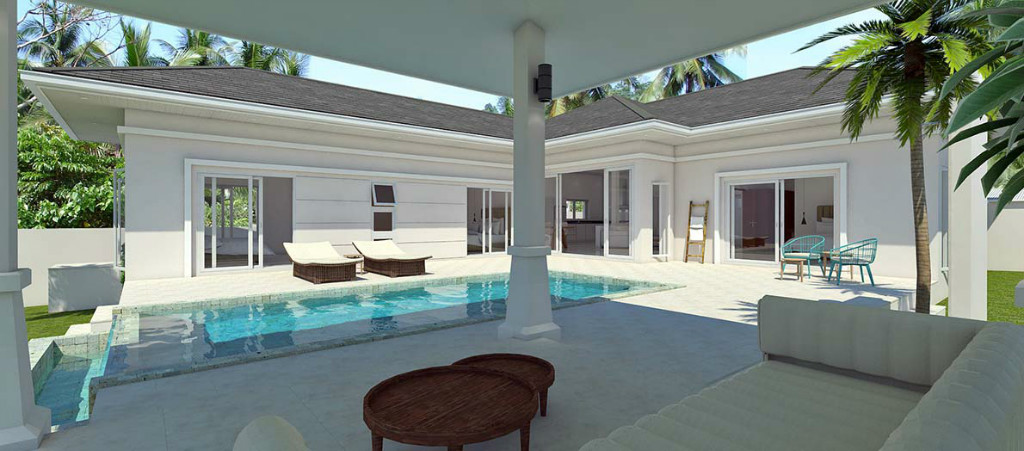 3 Bedroom House With Private Swimming Pool In Plai Laem For Sale