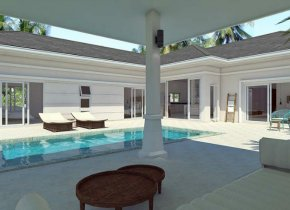 3-BEDROOM HOUSE WITH PRIVATE SWIMMING POOL IN PLAI LAEM FOR SALE