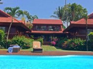 THAI STYLE 5-BEDROOM BEACHFRONT VILLA IN BANGRAK FOR RENT