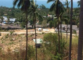 SEA VIEW PLOT OF LAND 1500 SQ METERS IN CHAWENG NOI FOR SALE