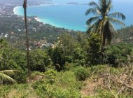 CORNER SEA VIEW PLOT OF LAND 1000 SQ METERS IN CHAWENG NOI FOR SALE