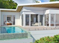 2 BEDROOM VILLA WITH AN ASTONISHING SEA VIEW FOR SALE IN BOPHUT HILLS