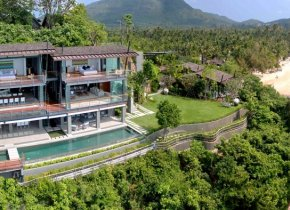 Luxury 6-Bed Beach Villa, Sleeps 10ad/6ch, Taling Ngam
