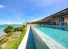BEAUTIFUL WATERFRONT LUXURY VILLA FOR RENT